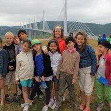 Visite du viaduc de Millau