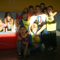 Visite du handballeur international hongrois Balazs Laluska